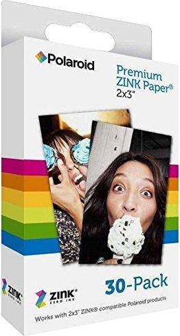 "Polaroid 2x3"" Premium ZINK Zero Ink Paper 30-Pack"